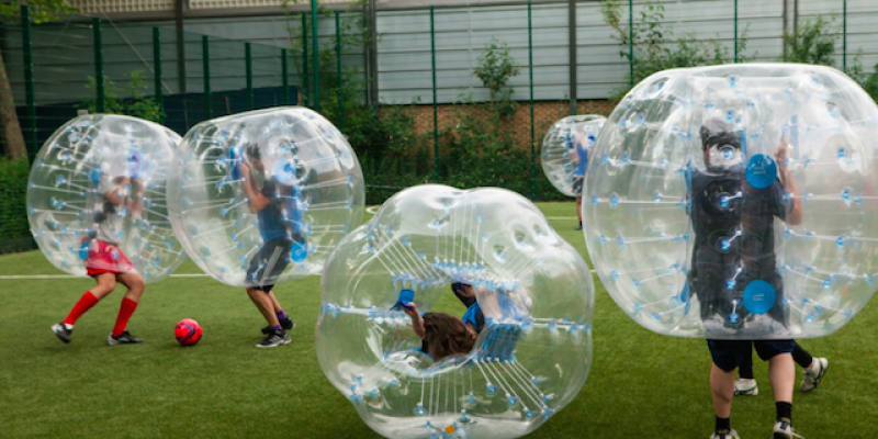 Bubble foot Saturday 22th of April