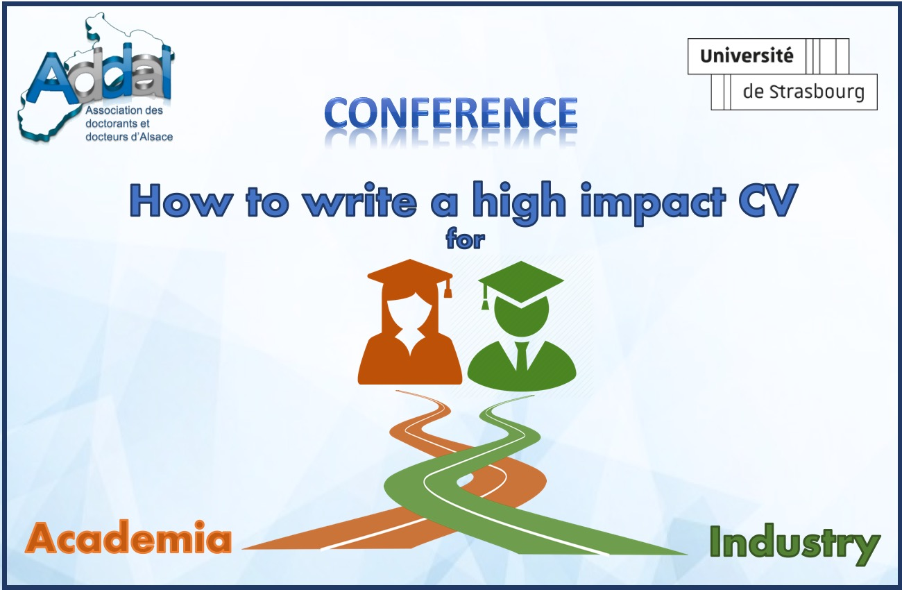 conference  how to write a high impact cv  u2013 addal